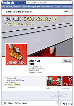 Aberlux en Facebook