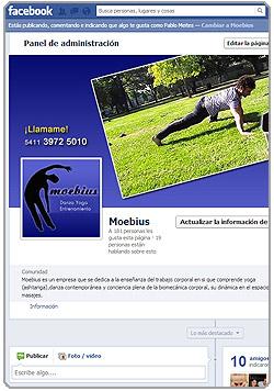 Moebius en Facebook