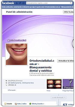 Ortodoncia Salud en Facebook
