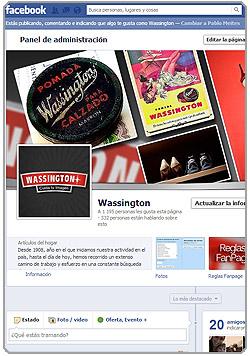 Wassington en Facebook