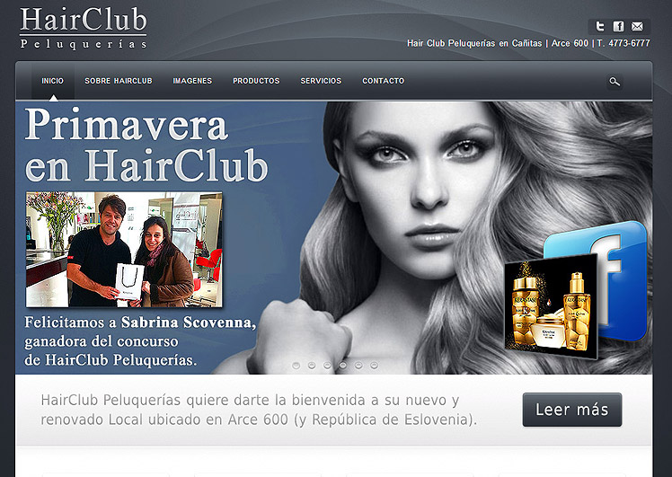 HairClubPeluquerias.com.ar