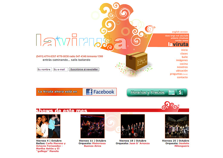 LaVirutaTango.com
