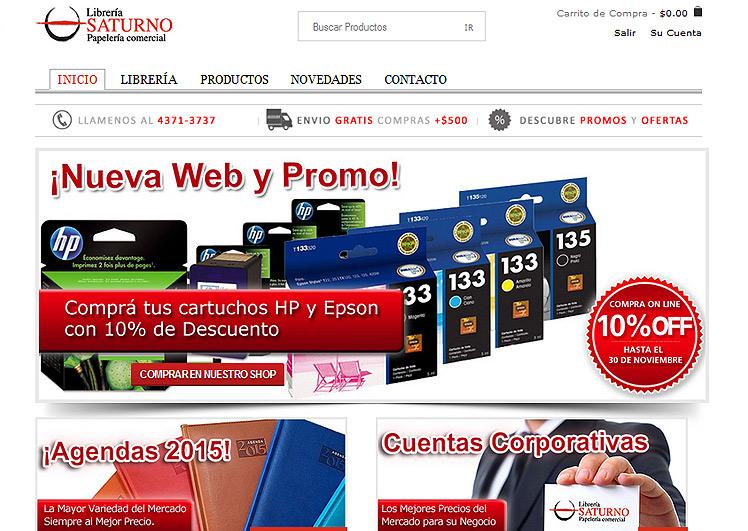 SaturnoLibreria.com.ar