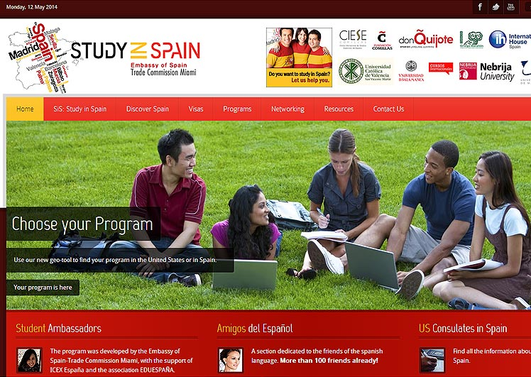 Study in Spain - Embassy of Spain - Trade Commission Miami