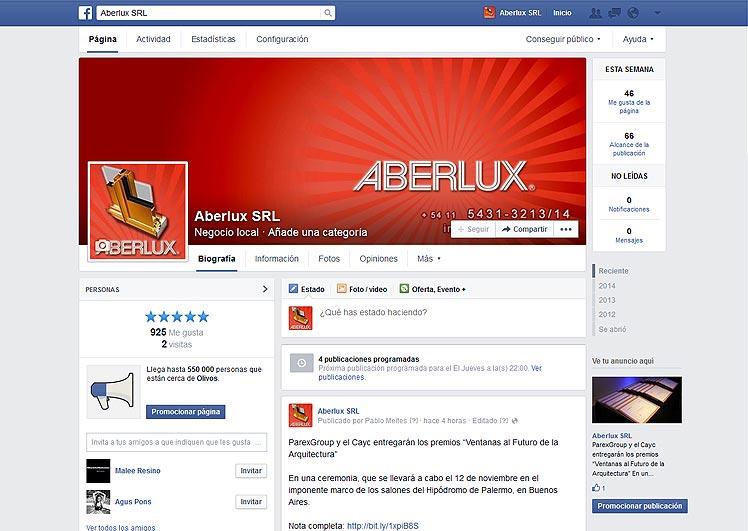 Aberlux SRL en FB