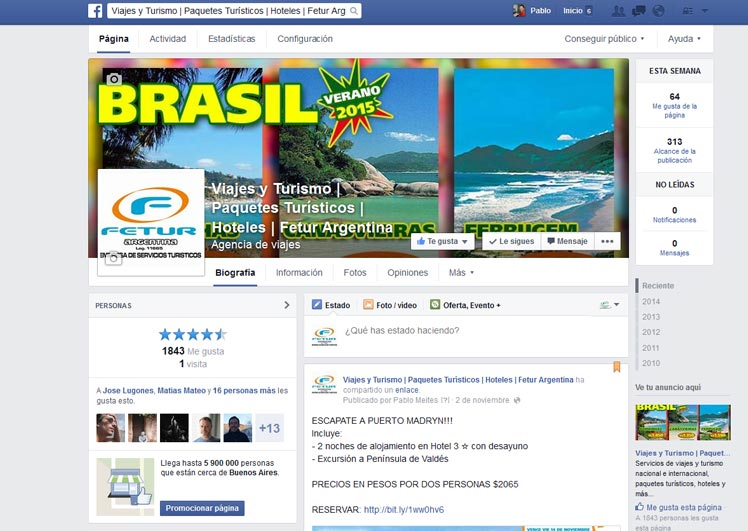 Fetur SRL en FB