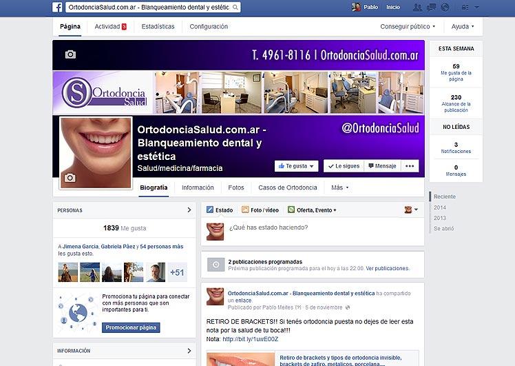 Ortodoncia Salud en FB