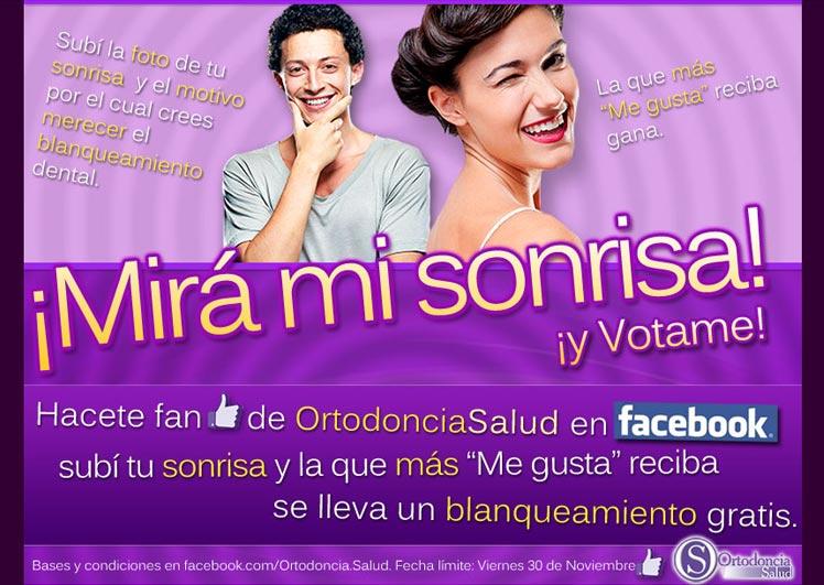 Flyer Acción Ortodoncia Salud