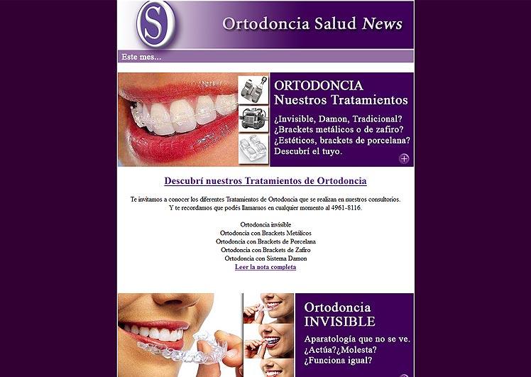Newsletter de Ortodoncia Salud